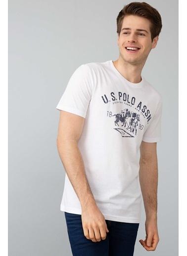 U.S.Polo Assn. Tişört Beyaz